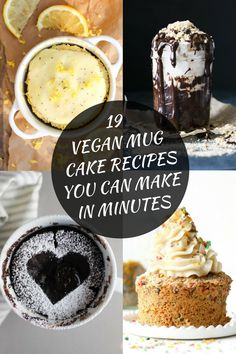 19 Vegan Mug Cake Recipes You Can Make In Minutes