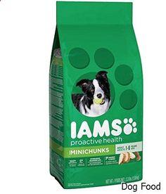 Dog Food - IAMS PROACTIVE HEALTH Adult MiniChunks Dry Dog Food