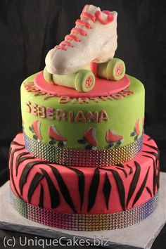 torta patin verde