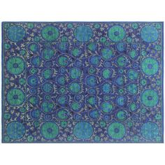 You'll love the One-of-a-Kind Hardwick Hand-Knotted Rectangle Blue Area Rug at Wayfair - Great Deals on all Rugs products with Free Shipping on most stuff, even the big stuff.