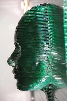 Glass Sculpture. Love this!