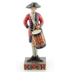 A Drummer's Call Is Clear And Steady-Williamsburg Drummer Figurine - Jim Shore