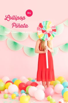Lollipop Pinata Makeover | Oh Happy Day! | Bloglovin'