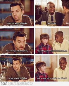 lmao! love new girl