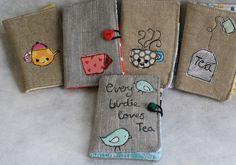 Tea wallets! So cute for traveling. Thanks, @Karla Pruitt Marin :)