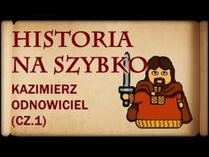 Poland History, Education, Youtube, Geography, Historia, Diary Book, Cuba, History, Onderwijs