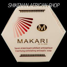 MAKARI Exfoliating Antiseptic Soap - African Beauty Best Skin Lightening Products, Antiseptic Soap, African Shop, Lighten Skin, Uneven Skin, African Beauty, Good Skin, Skin Care, Deep