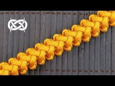 How to weave a Tangent Solomon Paracord Bracelet