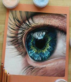 Amazing Learn To Draw Eyes Ideas. Astounding Learn To Draw Eyes Ideas. 3d Drawings, Colorful Drawings, Pencil Drawings, Ipad Kunst, Realistic Eye Drawing, Color Pencil Art, Eye Art, Art Techniques, Art Tutorials