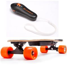 Only for those who love skating. Buy this Electric Skateboard 4 Wheels Electric Scooter with Remote Key at best price. #skateboard #electricskateboard