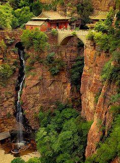 Cangyan Shan Falls Hebei, China