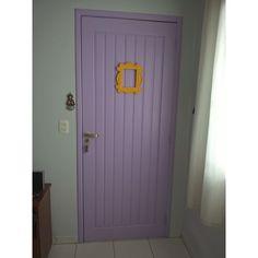 Minha porta inspirada na porta da Monica Geller do seriado Friends, da qual sou muito fã.❤