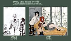 Draw It Again: The Knave, the Queen and the Jester by RainyDayMariah.deviantart.com on @deviantART