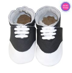 Hand Made Soft sole leather saddle shoes soft leather by minitoes Black And White Baby, Saddle Shoes, Babies Stuff, Soft Leather, Baby Shoes, Diy Projects, Mini, Handmade, Etsy