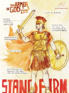 FULL Armor of God!! Exemplifies What It Means to be a Christian!