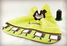 Te presento a Mafafa #babero #personalizado #handmade #bordado #niño #niña #babaglia #bib