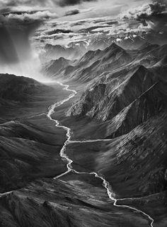 Sebastiao Selgado, The Brooks Range, Alaska, from the series Genesis, 2009. Gelatin silver print.
