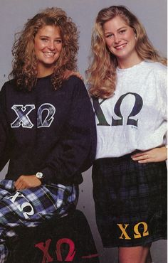 Chi O Creations through the Years - 125 Years of Chi Omega apparel vintage retro women's style fashion throwback