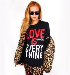 #patriciafield.com        #love                     #LOVE #EVERYTHING         LOVE IS EVERYTHING Tee                              http://www.seapai.com/product.aspx?PID=831842