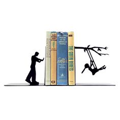 Remember those lazy summer days when you were a kid? You spent them at the park, then ran home to read your new book. Relive those memories with these stylish, nostalgic bookends.  Find the Sweet Swinging Bookends, as seen in the The Great Indoors  Collection at http://dotandbo.com/collections/2015-trends-the-great-indoors?utm_source=pinterest&utm_medium=organic&db_sku=89915