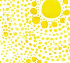 cestlaviv_butterfly dots  (sun spots) fabric by c'est_la_viv on Spoonflower - custom fabric