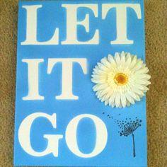 Let it goooooo, let it gooo......