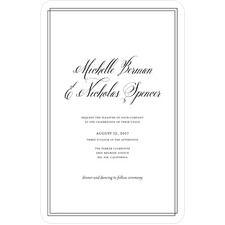 Pure Simplicity Wedding Cards