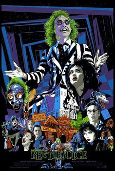 Halloween, movies, and beatle juice image