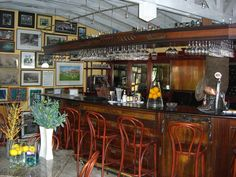 Bar at Eden Rock, St. Barths.