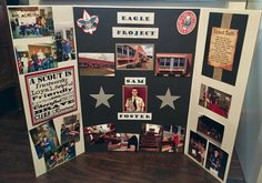 Eagle Scout display board