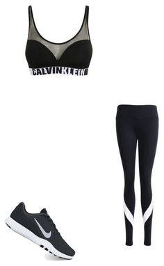 Calvin Klein by forevermebabe on Polyvore featuring Calvin Klein and NIKE