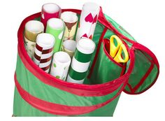 Christmas at STORE! Pop up gift wrap storage