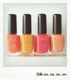 Glitter and Nails: La famille Sorbet - Kiko