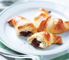 Easy Chocolate Croissants my boys love donuts.  Maybe this would be a good alternative because they can help make them.