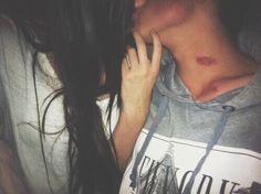 Image via We Heart It #boy #couple #girl #Hot #hug #kiss #kisses #love