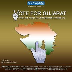 Voting is Your Constitutional Right and National Duty  Please Vote to express your Freedom  #PleaseVote #GujaratElection #Elections