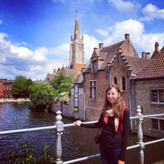 Bruges is an easy day trip from Brussels.