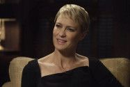 "Robin Wright as Claire Underwood in the Netflix drama ""House of Cards"""