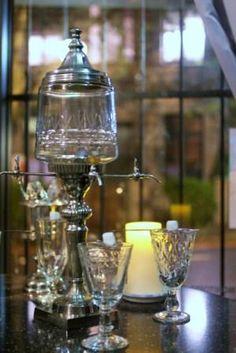 absinthe... I'd love an absinthe set like this!