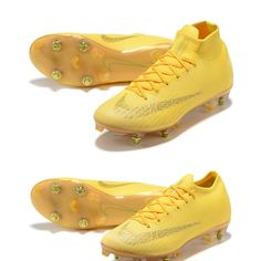 2b66e647676 Nike Mercurial Superfly VI Elite SG-PRO Gold Yellow Boots