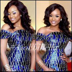 makeup by bibyonce ~African fashion, Ankara, kitenge, African women dresses…