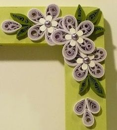 Flower quiling
