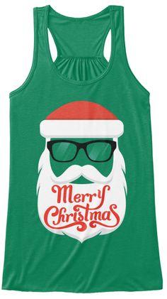 5410cbb101468 Merry Christmas Kelly Women s Tank Top Front Christmas Tops