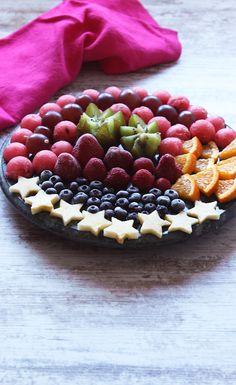 Como presentar un plato de frutas