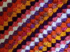 Jenn Likes Yarn - The Knit and Crochet Blog: and now for something different: box stitch afghan in progress
