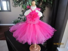 Hot Pink Tutu Dress