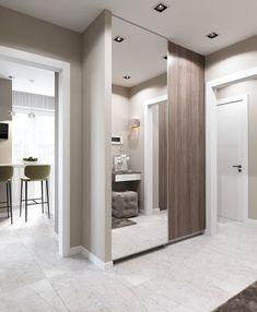 Apartment Interior, Interior Design Kitchen, Interior Design Living Room, Wardrobe Room, Wardrobe Design Bedroom, Flur Design, Hall Design, Modern Architecture Design, Hallway Furniture