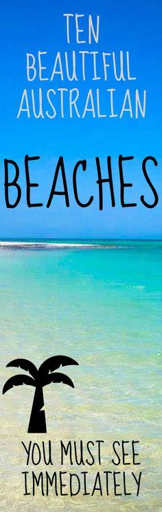 Australian beaches are breathtaking and beautiful. Via @travellingweas