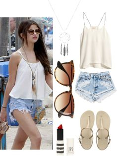 """Selena Gomez Style Steal!"" by missjellybean109 on Polyvore"