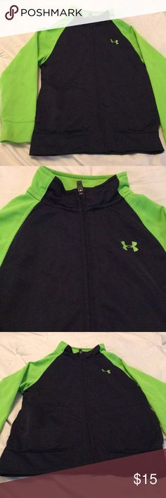 UNDER ARMOR BOY'S JACKET Gorgeous jacket in perfect condition, worn twice,size 6 made of polyester and spandex Under Armour Jackets & Coats